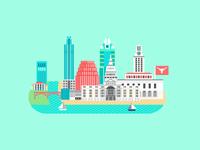Cityscape - Austin
