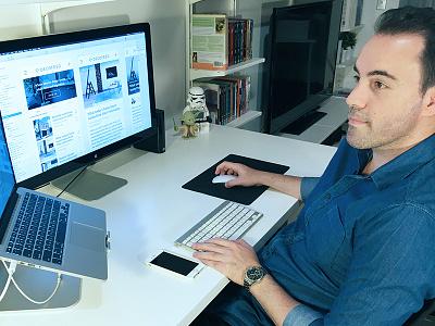 UI designers have Australia's most misunderstood job ui designer office workstation designer workspace