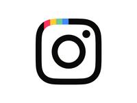 Instagram logo concept