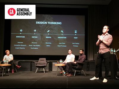Design In Motion Event design thinking event talk design