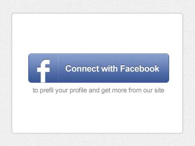 Facebook Connect Button