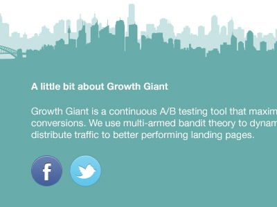 Growth Giant Footer footer facebook twitter icon