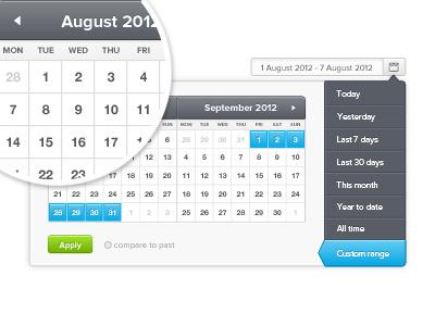 Date Picker date picker date select ui ui design interface calendar calendar chooser