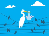 Stork, Brooklyn Baby Shower