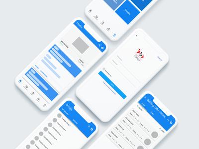 FleetApp Mockup product design prototype figma usability testing ui  ux mobile app design branding app ux design