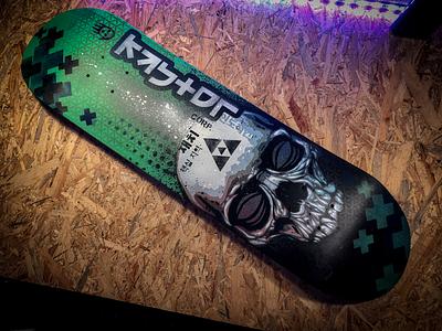 Custom skate stencils skate custom