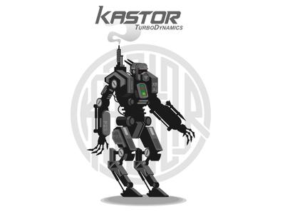 robotsimple robot vector illustration vector art vector