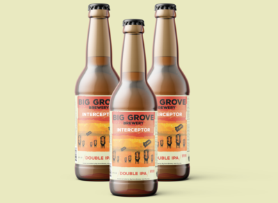 """Interceptor"" Bottle Label Design"