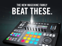 BEAT THESE. NATIVE INSTRUMENTS. MASCHINE.