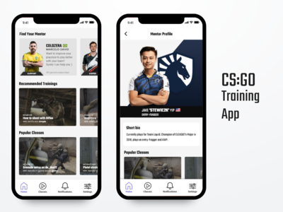 CS:GO Training App Concept