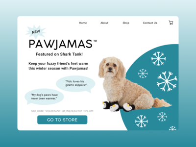 Pawjamas: Slippers for Dogs!