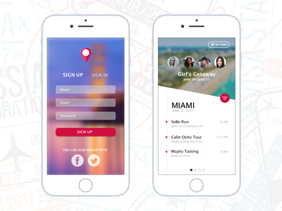 Travel App ui design user interface design interface application ui application travel sketch app daily ui ui dailyui sketchapp