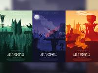 Oddworld Posters