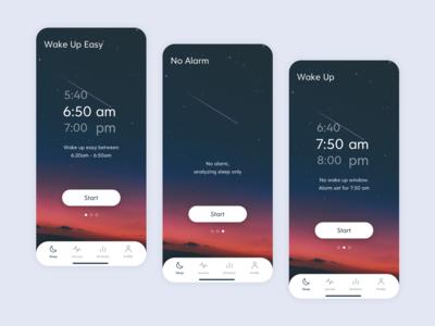 Sleep Cycle Mobile Redesign