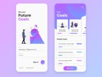 Goal Tracking App