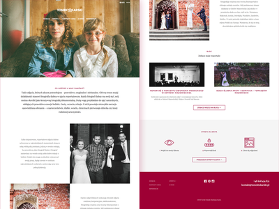 Tomek Tokarski - Photographer portfolio website webdesign wordpress portfolio photos photographer