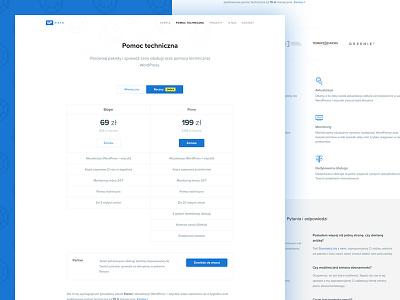 wpmate: WordPress Support pricing landing page support website wordpress wpmate