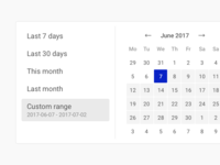 NapoleonCat – Datepicker