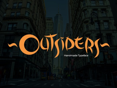 Outsiders Typeface FREE