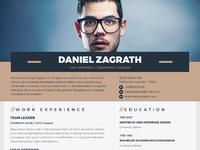 Visually alive resume 01 resume