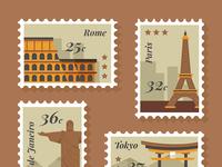 City stamp 02
