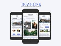 TraveLink App UI