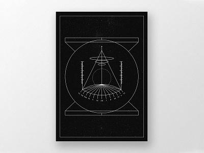 Sistemi Mnemonici/02 posterdesign poster surrealism scifi vector minimal logo illustration geometric forms digital illustration design black
