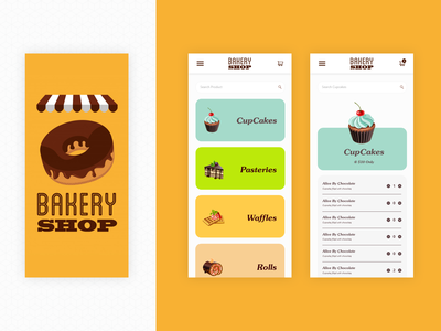 Bakery app Redesign