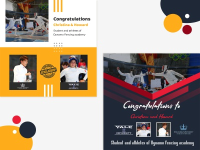 Banner Design app scholarships advertising banner ad ui design
