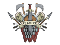 Dungeons and Dragons Fighters Crest