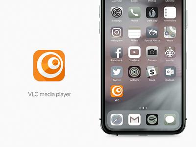 Daily UI 5 / VLC Icon proposal icon vector logo branding ux ui uiux design daily 100 challenge app