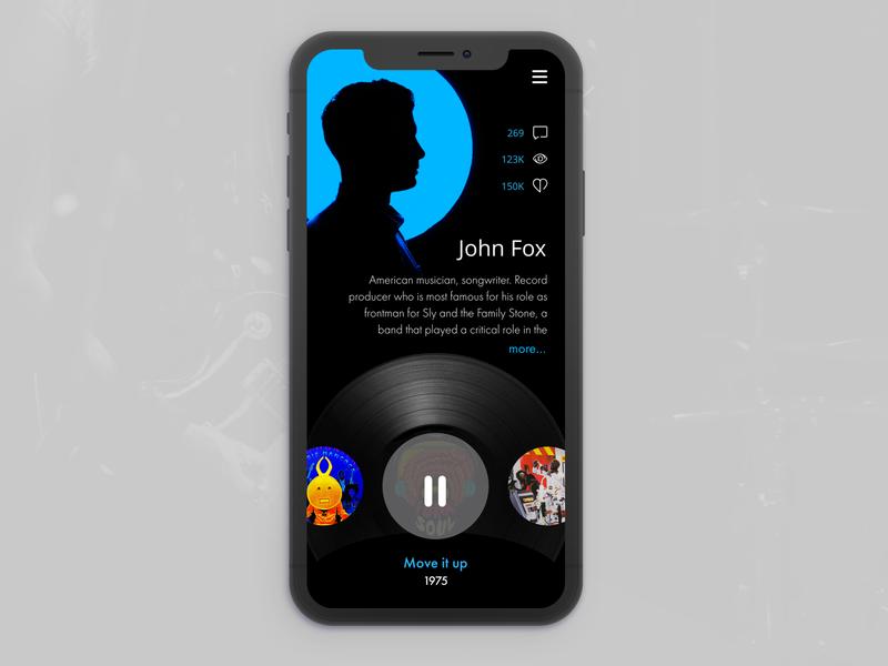 Daily UI 006 minimal typography ux branding ui uiux design daily 100 challenge app