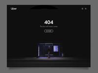 Daily UI 8  / Uber 404 proposal