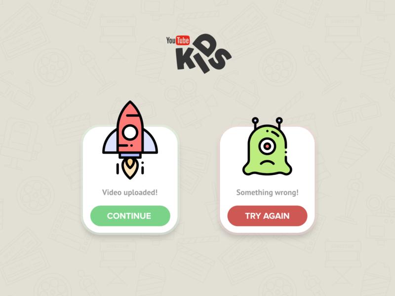 Daily UI 11 - Youtube kids flat website illustration branding app ux ui uiux design daily 100 challenge