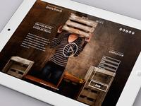 Furniture Designer Web Site