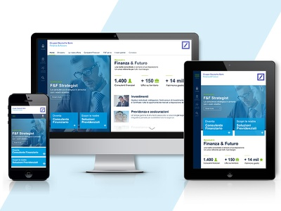 Finance website responsive flat web site design ui restyling user interface