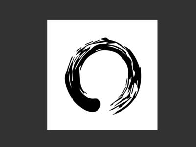 Oneness Zen Brushstroke Custom Icon