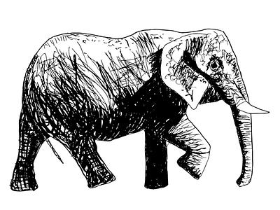 Inktober - Tread digital illustration art digitalinktober