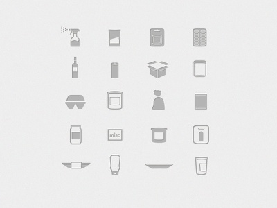Some packaging icons package icons