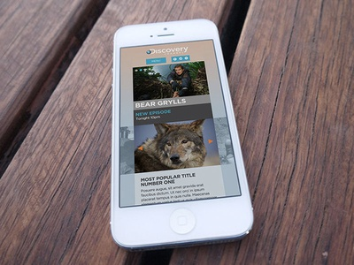 Discovery Channel (Netherlands) discovery channel responsive mobile
