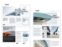 Architecture Portfolio Webdesign