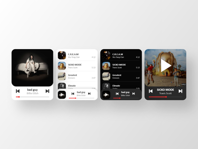 Apple Watch music app ui concept