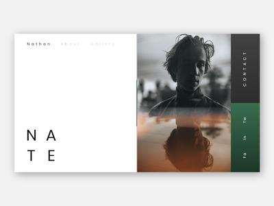 Portfolio Webdesign Concept