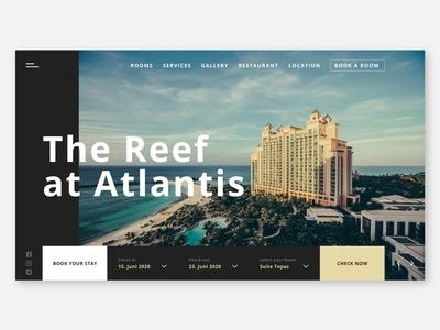 Hotel Website Concept