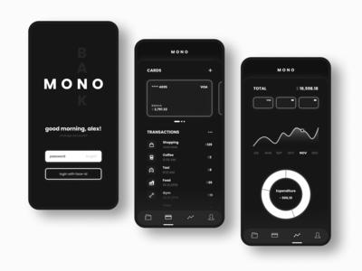 Monobank appdesign concept