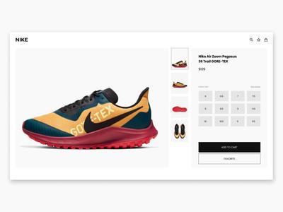 Online Shopping Webdesign UI