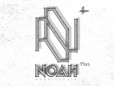 Noah Plus #03 poster art poster logo mockup photoshop typography layout artwork