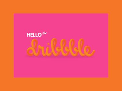 Hello dribbble :)