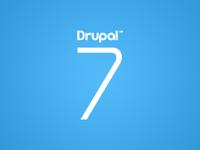 Drupal 7 logo