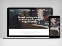 C&W digital agency homepage